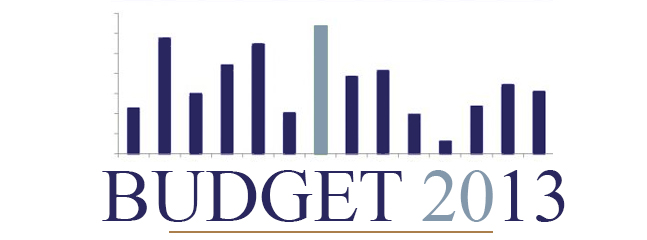The Budget 2013