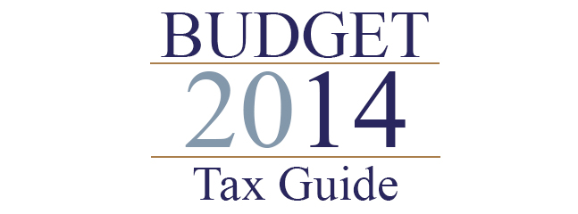 Budget 2014 Tax Guide