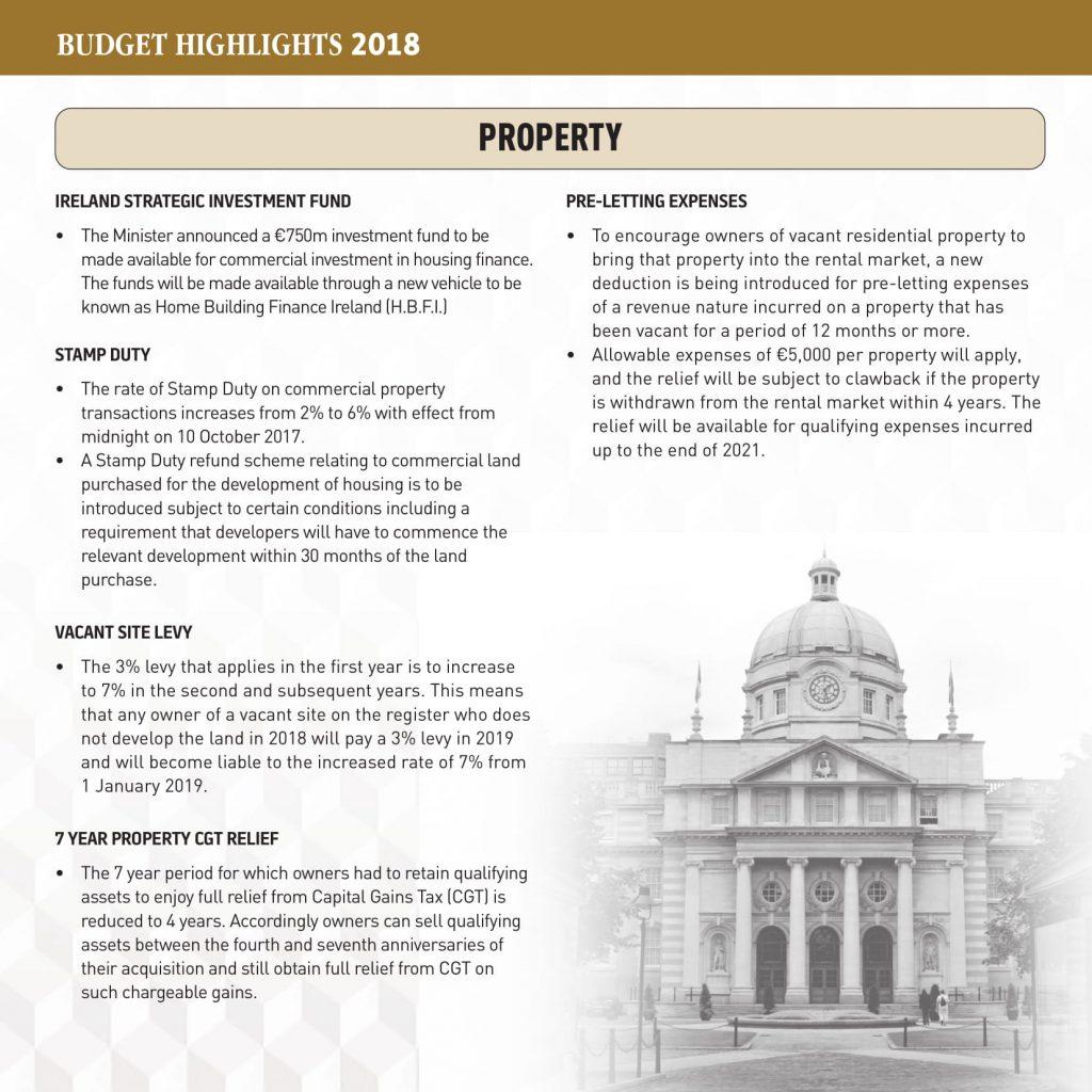 Budget Highlights 2018 | Kirk & Associates